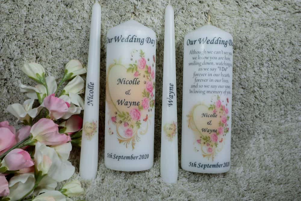 Flower Wedding Unity set