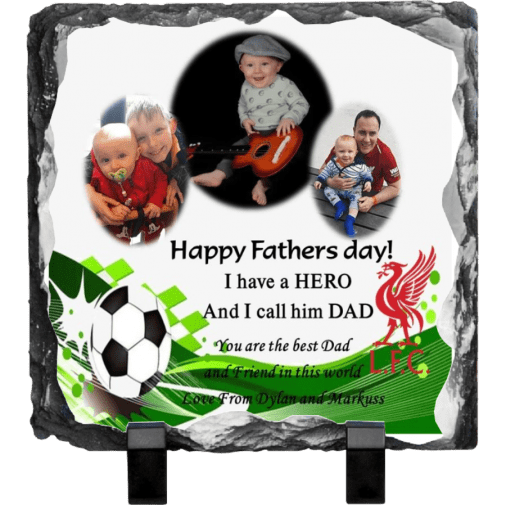 Father's Day Rock photo slate