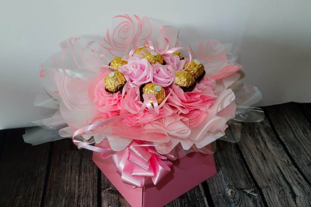 Birthday gift - Ferrero bouquet