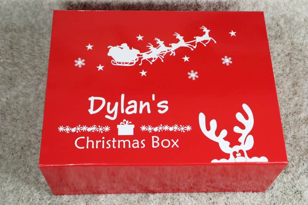 Personalised Christmas Box