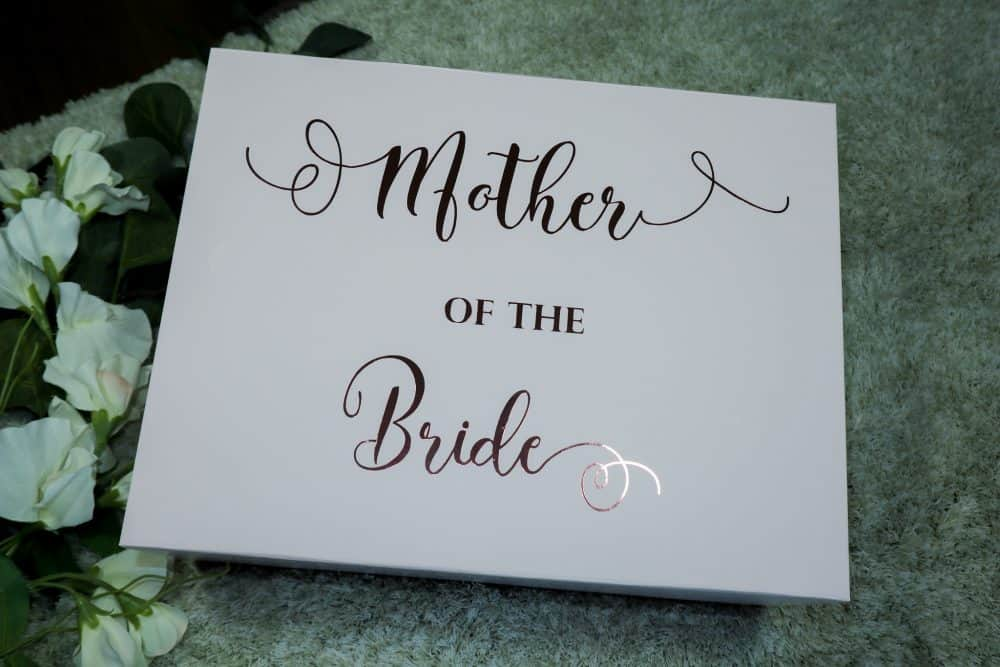 Gift box – Mother of the Bride | Groom | Bridesmides – Empty