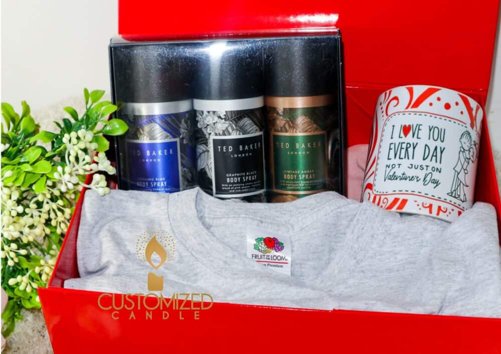 Mens Valentines day Gift set