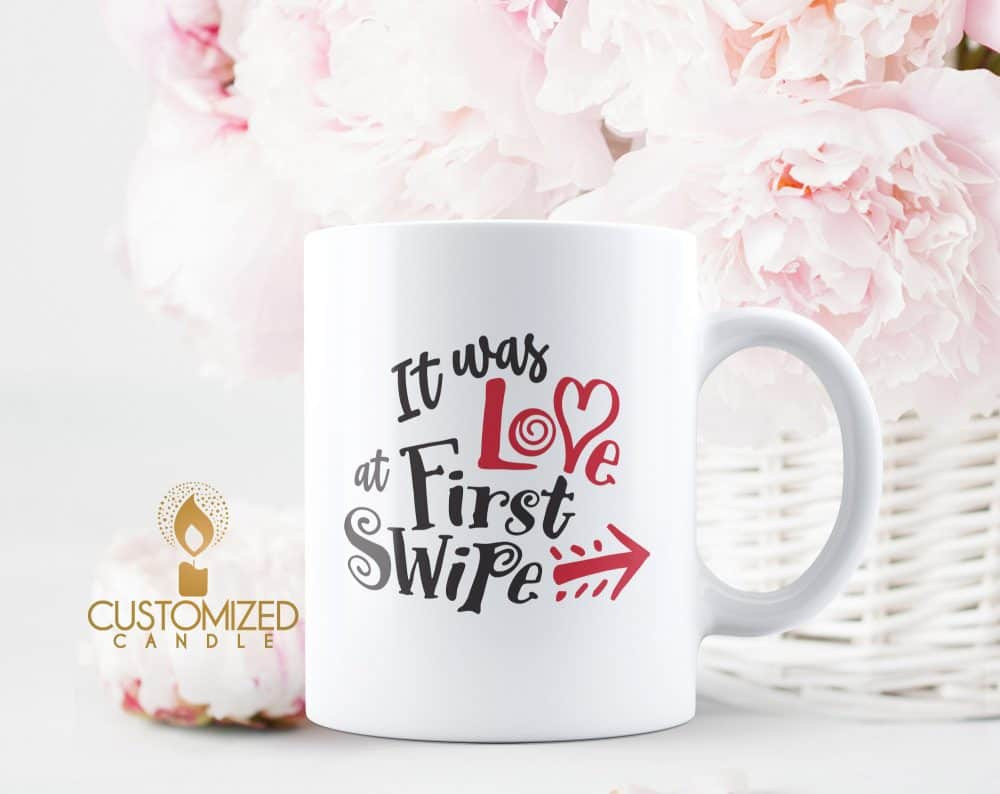 Valentines Day Mug with quote
