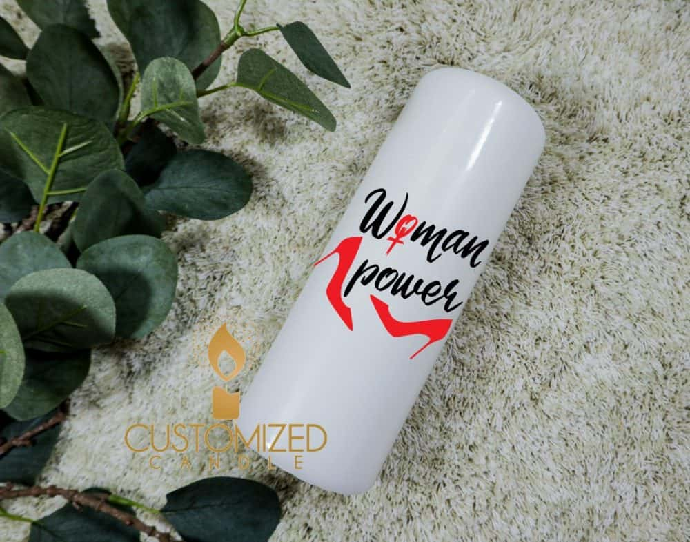 Women's day gift candle