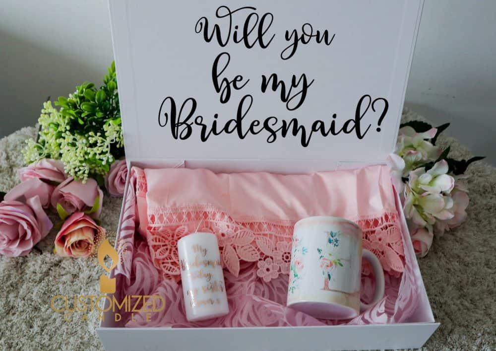 Bridesmaids proposal boxes – Pick your gifts