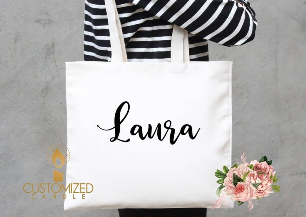 Bridal party totes – Personalised Bridal party bags