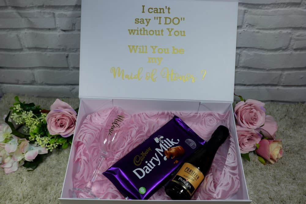 Bridesmaid proposal box bundle