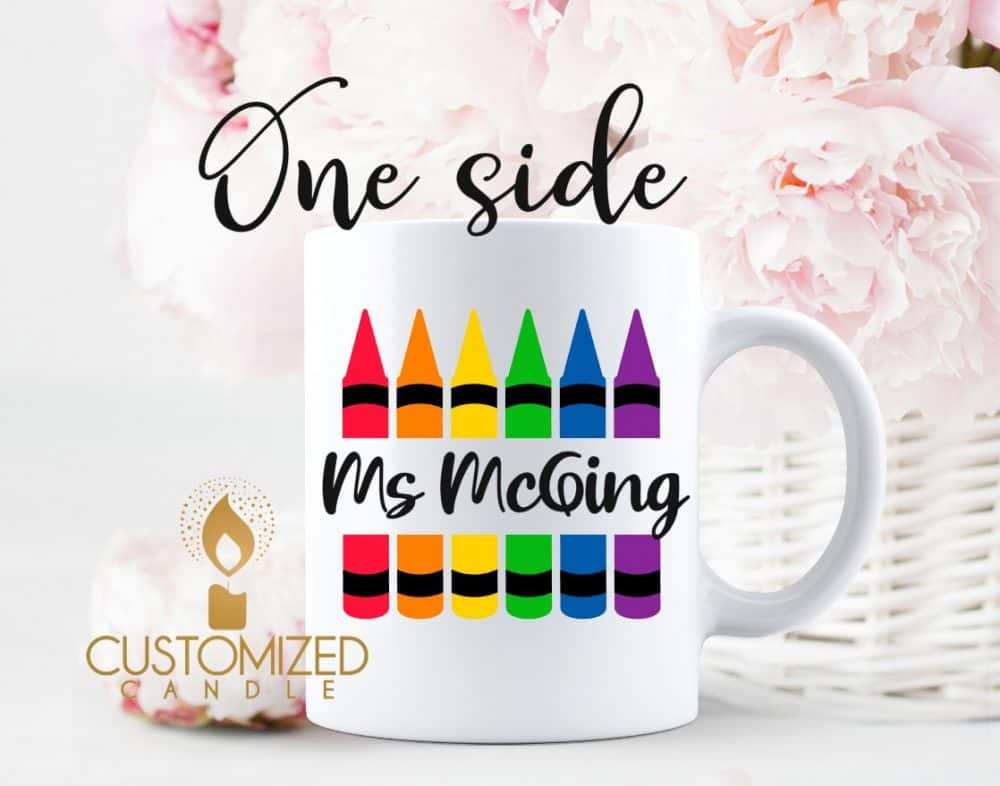 Teacher gift – Crayons Mug