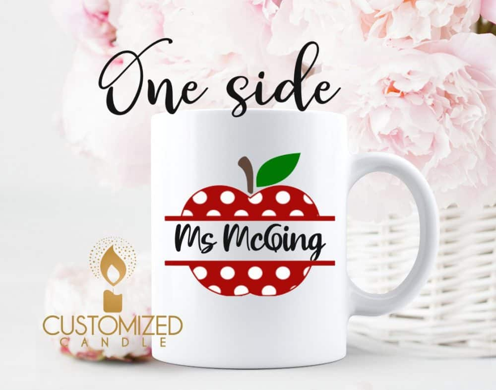 Teacher gift – Apple Mug