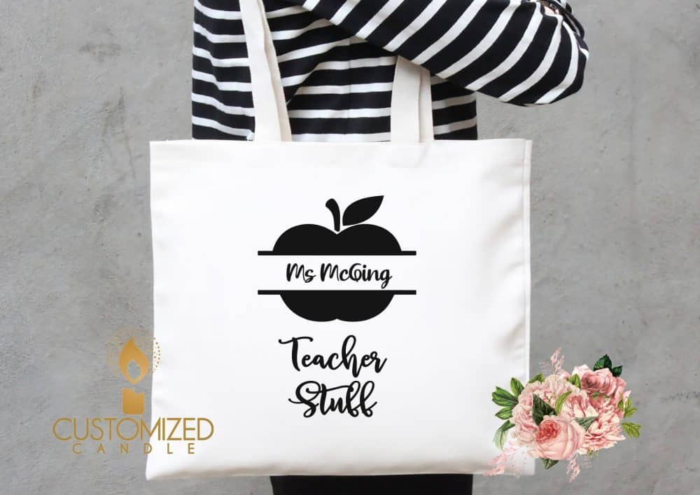 Personalised Teacher's bag – Teacher stuff